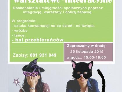 II Spotkanie integracyjno-warsztatowe (Andrzejkowe!:)