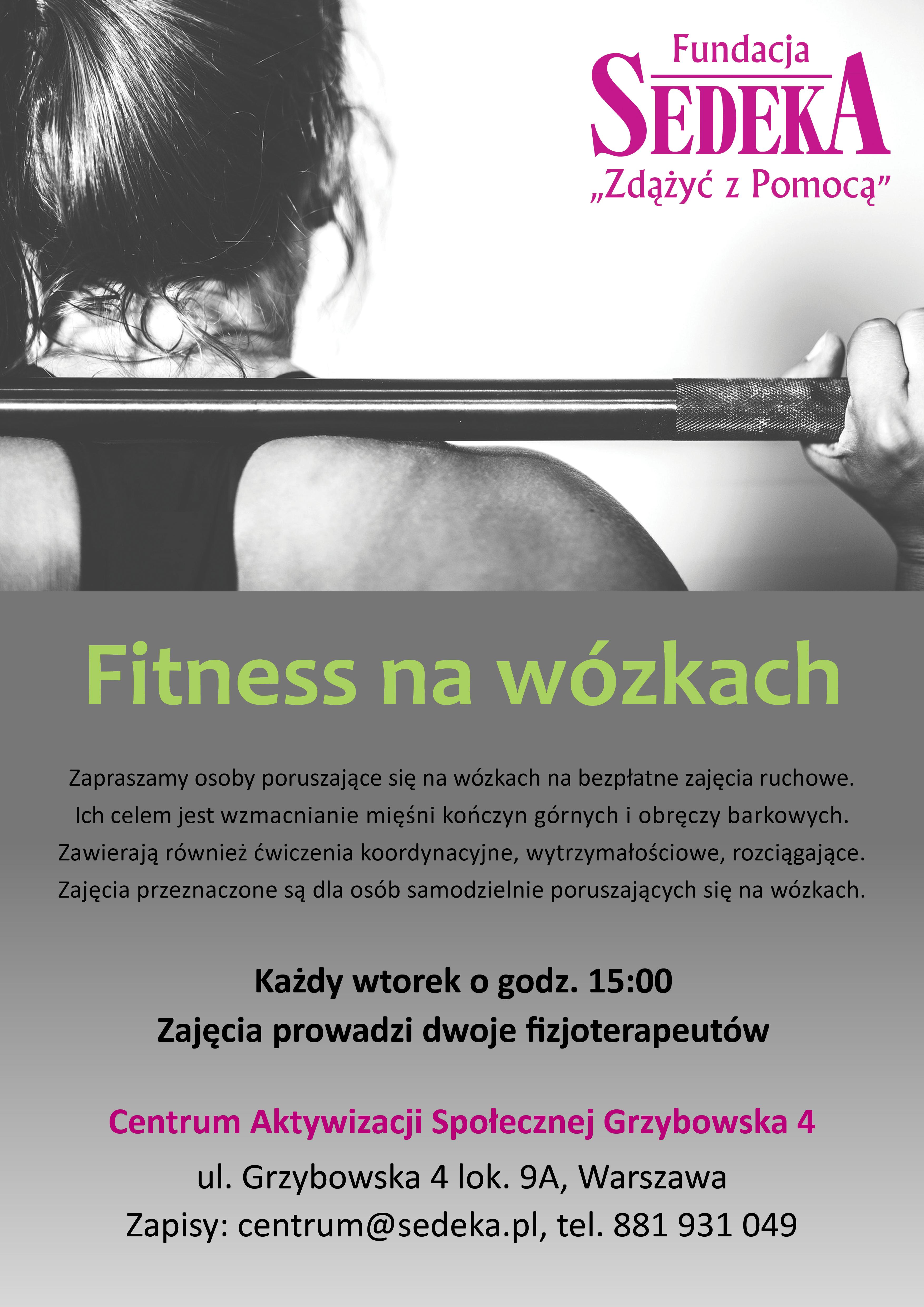 fitness na wózkach
