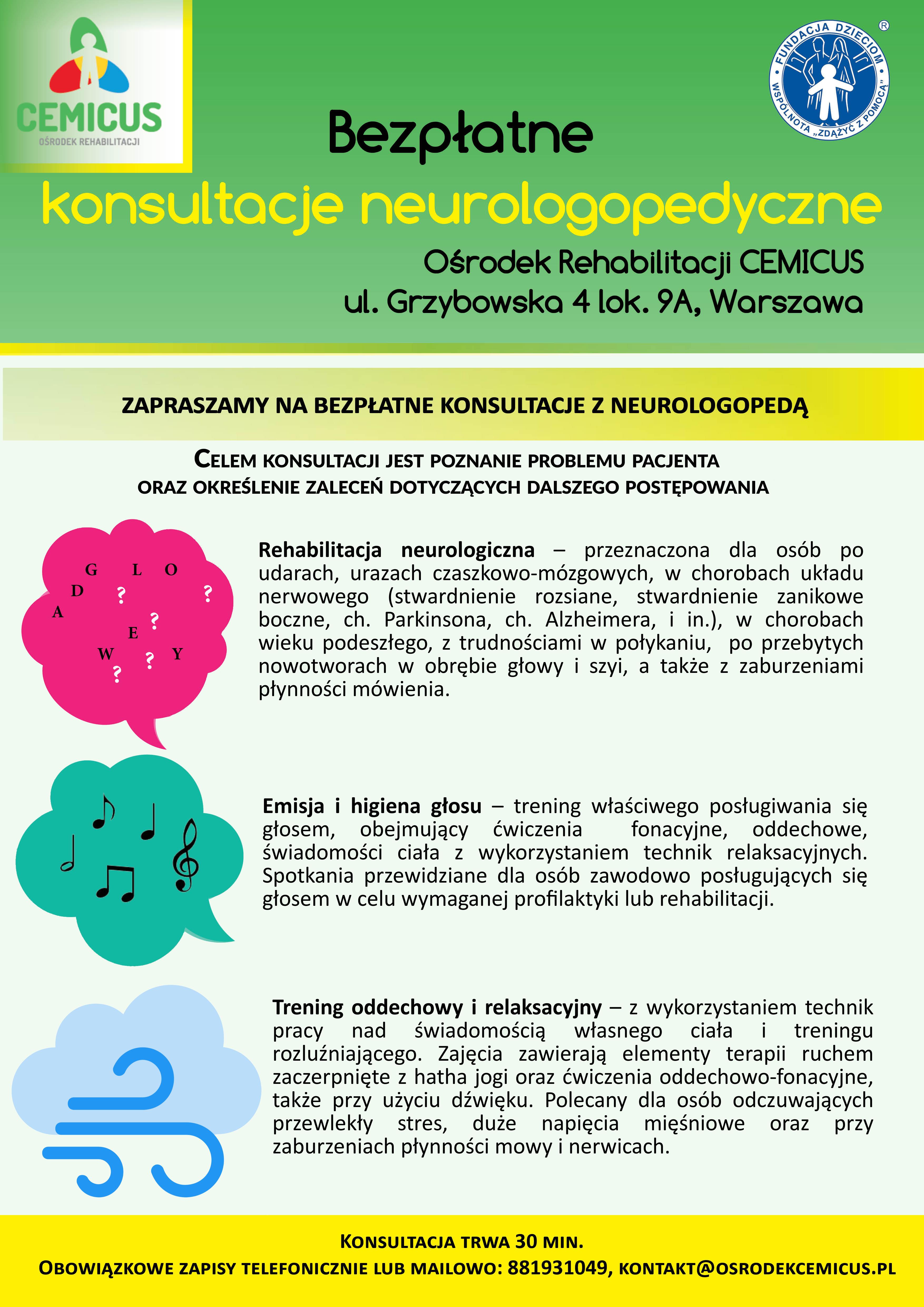 bezpłatne konsultacje z neurologopedą5